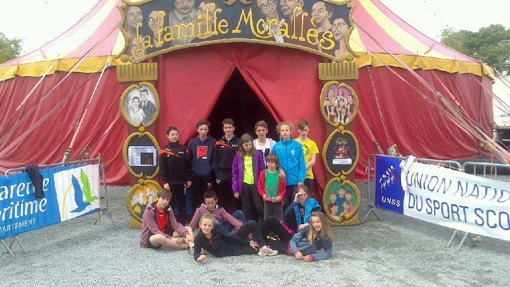 Championnat de France de Cirque à Surgères