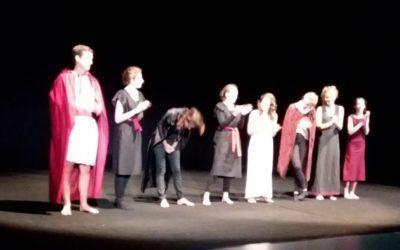 ANTIGONE une tragédie représentée par notre atelier théâtre
