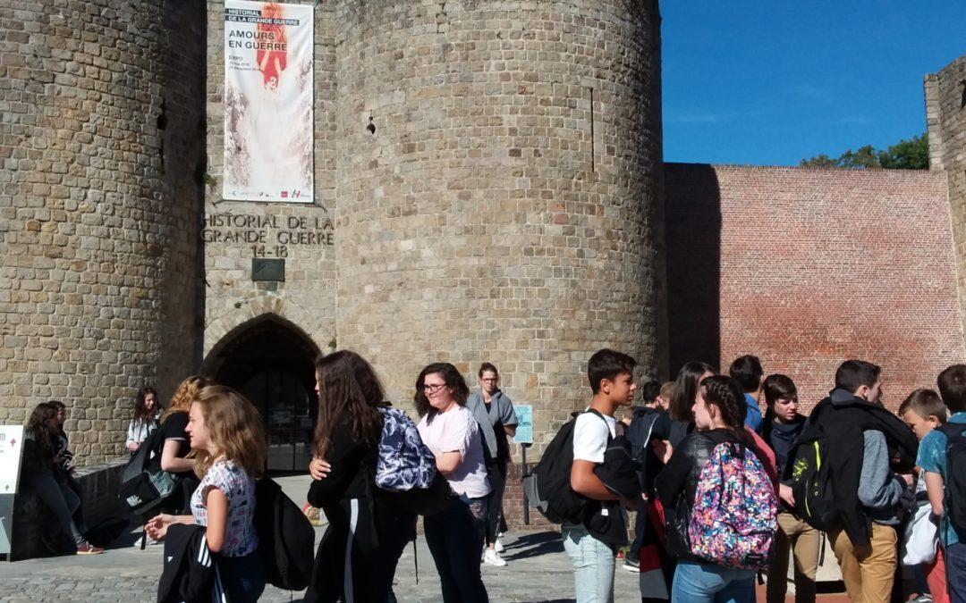 Voyage à VERDUN : un retour avec l'Historial de Péronne