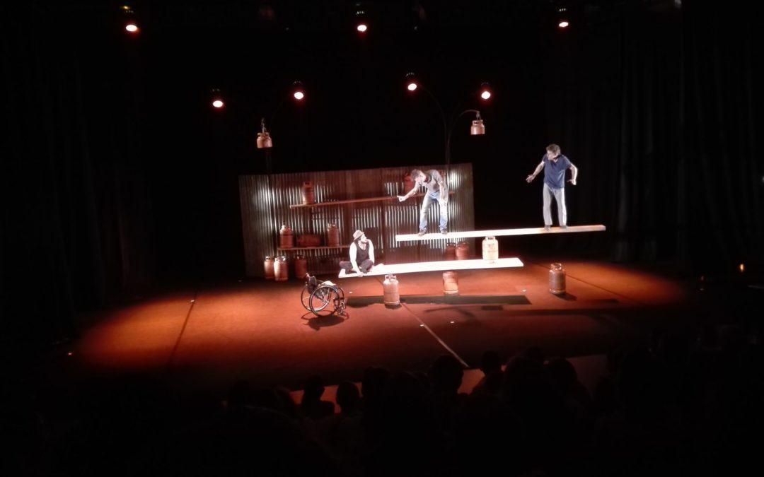 «Extrémités» : un spectacle original et spectaculaire pour les élèves de 4ème et de l'Atelier Cirque !