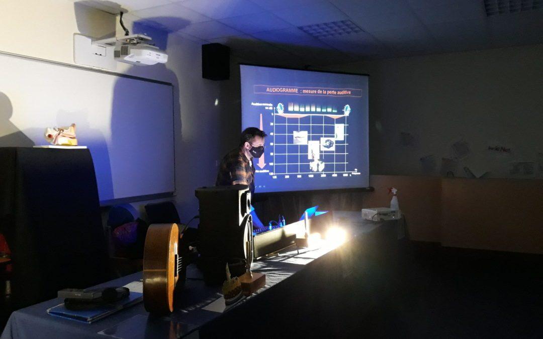 Le SON : Maine Sciences explique tout aux élèves de 3ème